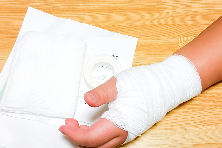 急性外傷と亜急性外傷